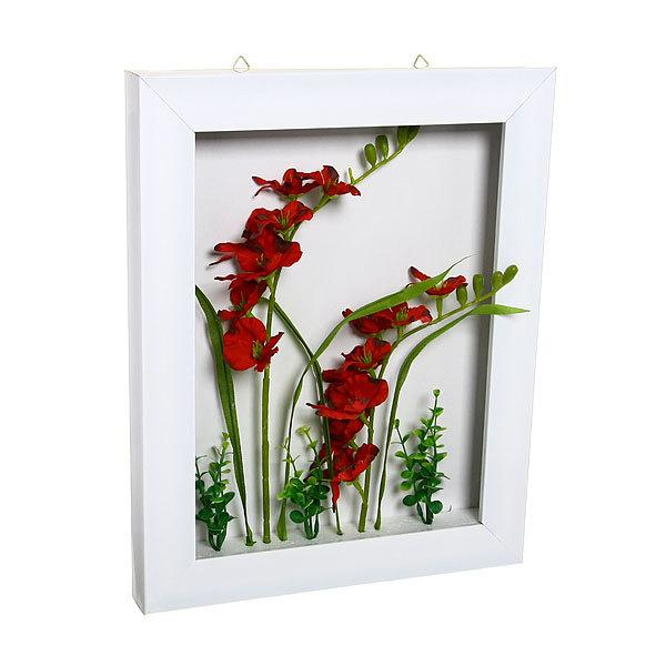 Картина-панно из пластика 40*32см Цветы G006 купить оптом и в розницу