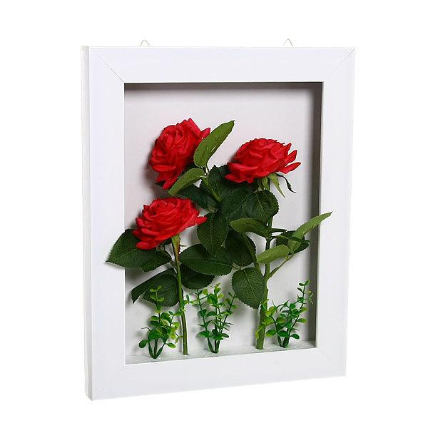Картина-панно из пластика 40*32см Розы G012-2 купить оптом и в розницу