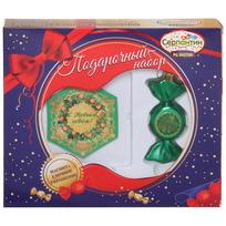 Набор магнит и елочная игрушка-конфетка ″Удачи в делах!″ купить оптом и в розницу