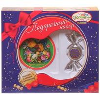 Набор магнит и елочная игрушка-конфетка ″Послушных детей!″ купить оптом и в розницу