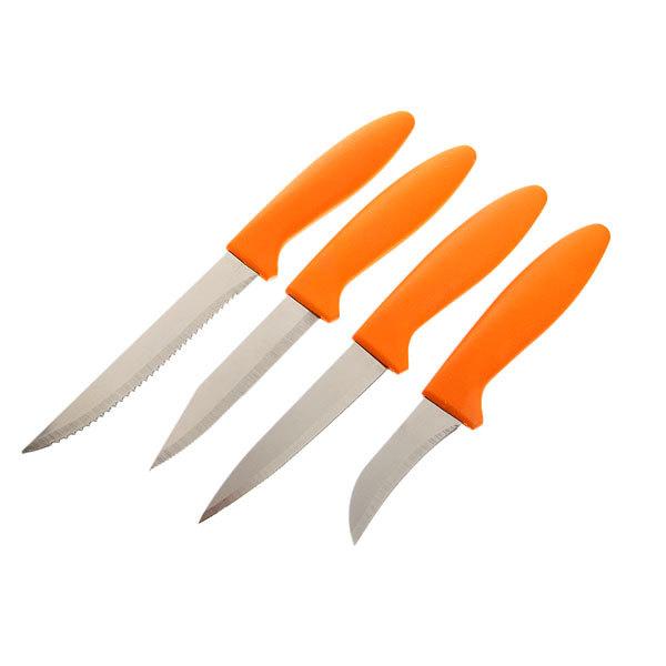 Набор ножей мини 4шт в круглой подставке купить оптом и в розницу