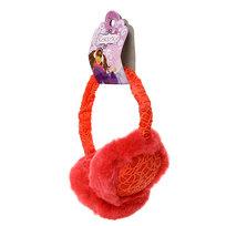 Наушники меховые, ажурный ободок, цвет розовый купить оптом и в розницу