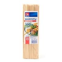 Шампуры деревянные 300мм в упаковке 100 шт GRIFON /100/1 400-102 купить оптом и в розницу