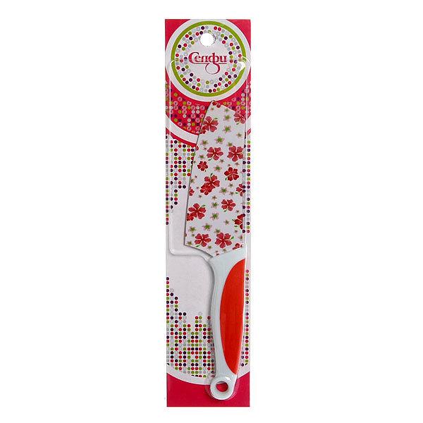 Нож кухонный ″Цветы″ овощной 11см Х-0311 Селфи купить оптом и в розницу