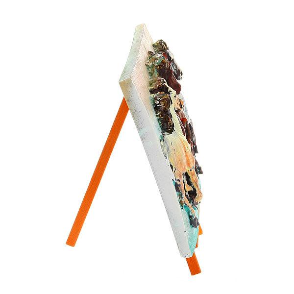 Панно керамическое ″Рысаки″ 17,5*25 см купить оптом и в розницу