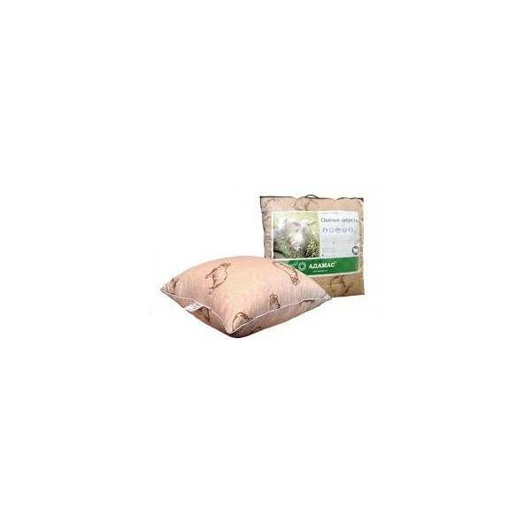 Подушка 70*70см овечья шерсть Адамас в сумке купить оптом и в розницу