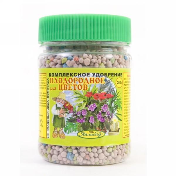 Удобрение 250гр для цветов комплексное плодородное купить оптом и в розницу