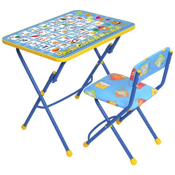 Набор детской мебели ″Никки.Азбука″ складной, мягкий стул КУ1/9 купить оптом и в розницу
