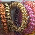 Резинки для волос силиконовые 5шт ″Леопард″, цвет микс d-5.5см купить оптом и в розницу