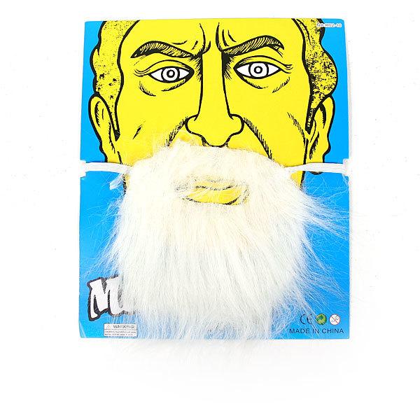 Борода карнавальная белая″ 985-1 купить оптом и в розницу