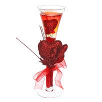Свеча гелевая ″Сердечная″ 20 см красная 6020 K купить оптом и в розницу
