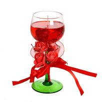 Свеча гелевая ″Сердечная″ 17 см красная 8020 P купить оптом и в розницу