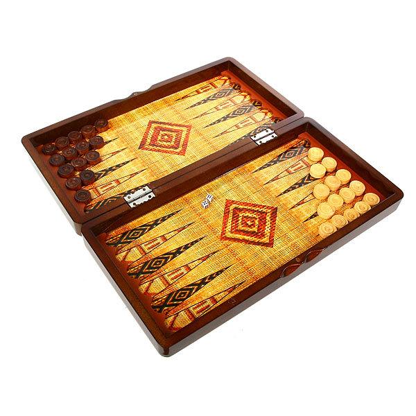 Игра настольная Нарды 40*20*6 W4896 купить оптом и в розницу