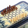Игра настольная Нарды 33*18*3 W3221-H купить оптом и в розницу