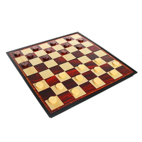 Игра настольная 2 в 1 (шашки, нарды) 32*16*4,2 см купить оптом и в розницу