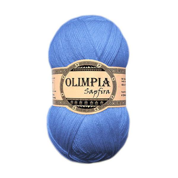 Пряжа для руч.вяз.″Olimpia Sapfira″ цв.SF04 голубой (акр-75%,ПА-25%) 500г купить оптом и в розницу