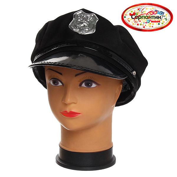 Шляпа карнавальная ″Шериф″ 2473-9 купить оптом и в розницу