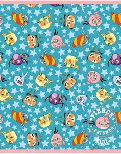 """Тетрадь 48л.кл.скрепка HATBER, """"Angry Birds.Stella Выпуск №3"""" купить оптом и в розницу"""