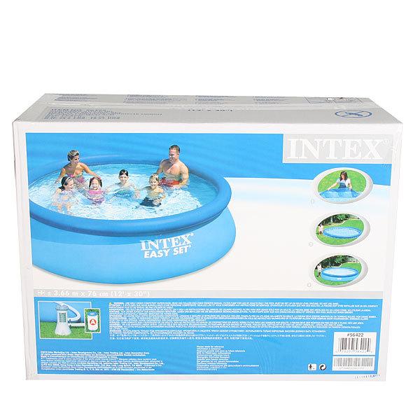 Бассейн надувной Easy Set 366*76 см + насос-фильтр 2006 л/ч (А) Intex (56422) (28132) купить оптом и в розницу