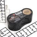 Губка для обуви Компакт коричневая Эффектон /12/96 купить оптом и в розницу