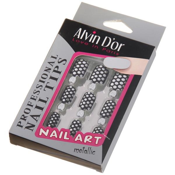 Накладные ногти металлические ″Alvin D`or″ ADPN 07^ АКЦИЯ 1+1!!!СНИЖЕНА ЦЕНА!!!! купить оптом и в розницу