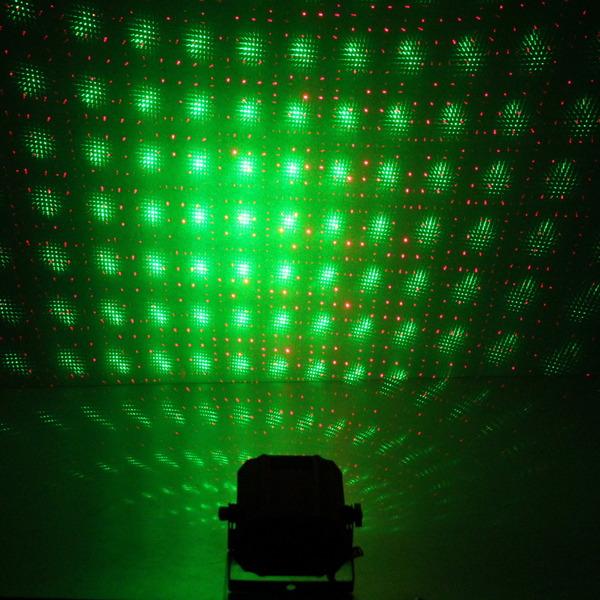 Световой прибор Лазер WS-017N- RG, mic+авто, (200mw), ПДУ купить оптом и в розницу