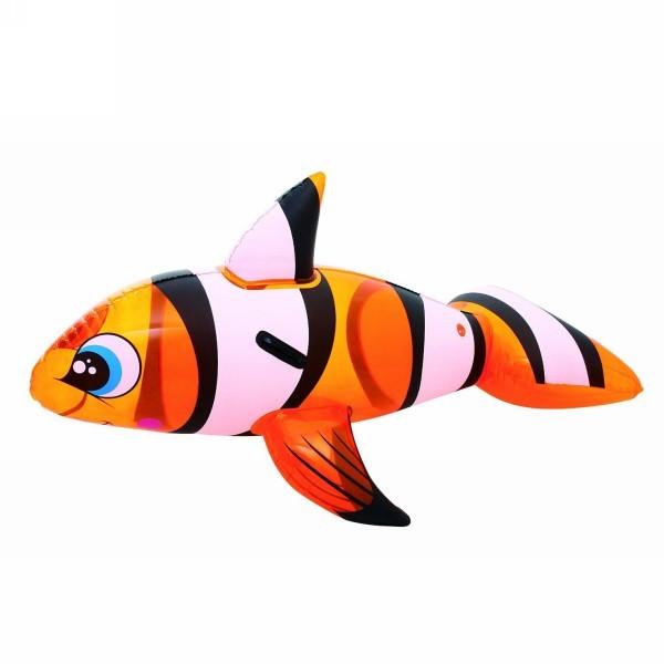 Игрушка для плавания верхом 158*94*51 см с ручками Clown Fish Bestway (41088B) купить оптом и в розницу
