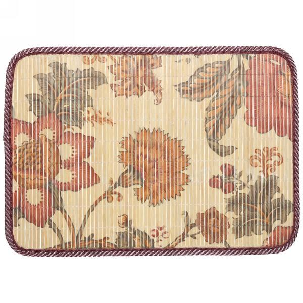 Салфетка на стол 30*42см бамбуковая Цветы купить оптом и в розницу