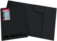 Папка на резинках  Megapolis 0.60мм купить оптом и в розницу