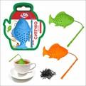 Ситечко для чая силиконовое ″Рыба″ купить оптом и в розницу
