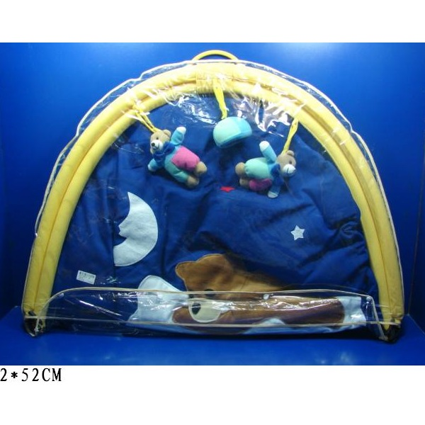 Коврик 6140FM с игр. на дугах д/младен в сумке купить оптом и в розницу