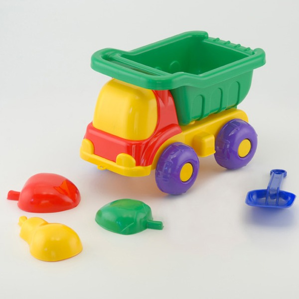 Песочный набор Машина Пчелка №2 0022 /Colorplast/ купить оптом и в розницу