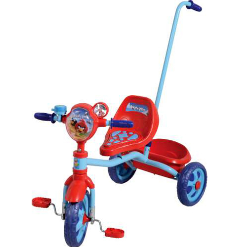 Велосипед 3-х Angry Birds Т56840 с ручкой купить оптом и в розницу