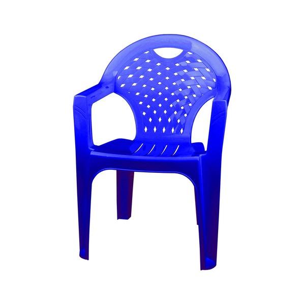 Кресло (синий)(уп.4)(Октябрьский) купить оптом и в розницу