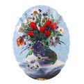 Картина дерево 30*40см ″Тюльпаны″ НBJ АН448 купить оптом и в розницу