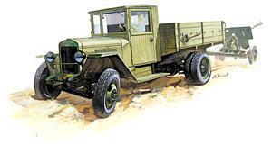 """Сб.модель 3529 грузовик """"Зис-5В"""" купить оптом и в розницу"""