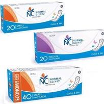 Ультратонкие прокладки ежедневные NORMAL cliniс - cotton & slim- 180 мм, в картон. коробке, без и/у 20 шт купить оптом и в розницу