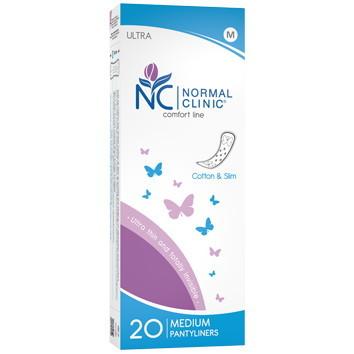 Прокладки ультратонкие ежедневные NORMAL cliniс Fresh - cotton & slim- 150 мм, в картон. коробке, без и/у 20шт купить оптом и в розницу