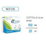 Ультратонкие прокладки ежедневные NORMAL cliniс Fresh - cotton & slim- 150 мм, в ПЭ упаковке, с и/у 20шт купить оптом и в розницу