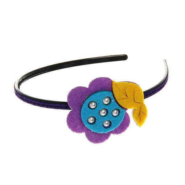 Ободок ″Иветта″ цветочек (фетр) 689-1 купить оптом и в розницу