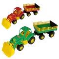 Трактор Силач с прицепом №2 с ковшом 45034 П-Е /6/ купить оптом и в розницу