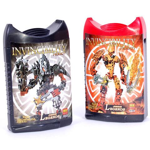 Робот Бионикл 9860-9865 в банке купить оптом и в розницу