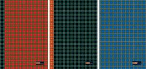 """Тетрадь А4 96л.кл.гребень Альт, """"Шотландка"""" 3 вида купить оптом и в розницу"""