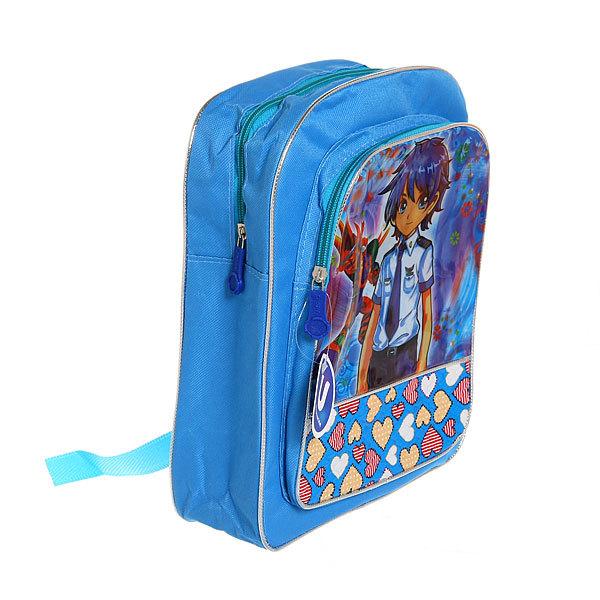 Рюкзак детский ″Ультрамарин - Модница″, цвет синий 30*24*9 купить оптом и в розницу