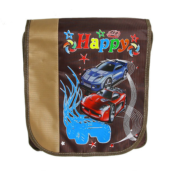 Рюкзак детский ″Ультрамарин - Скоростная гонка″, цвет коричневый 34*30*11 купить оптом и в розницу