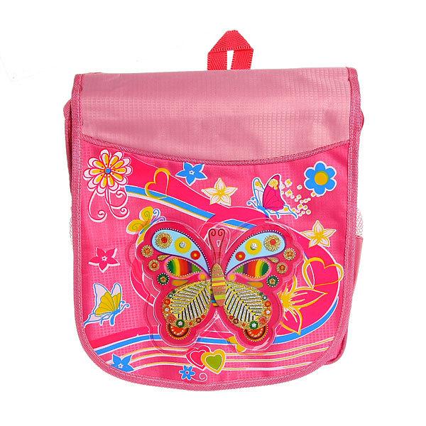 Рюкзак детский Ультрамарин ″Бабочка″ 34*30*11 419-4 купить оптом и в розницу