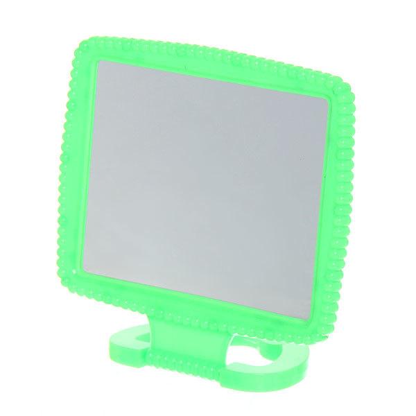 Зеркало настольное в пластиковой оправе ″Резная рамка″ прямоугольник, подвесное 13*10,5см купить оптом и в розницу