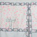 Шторы Прованс 150*120см 2шторы+тюль розочки зеленые купить оптом и в розницу