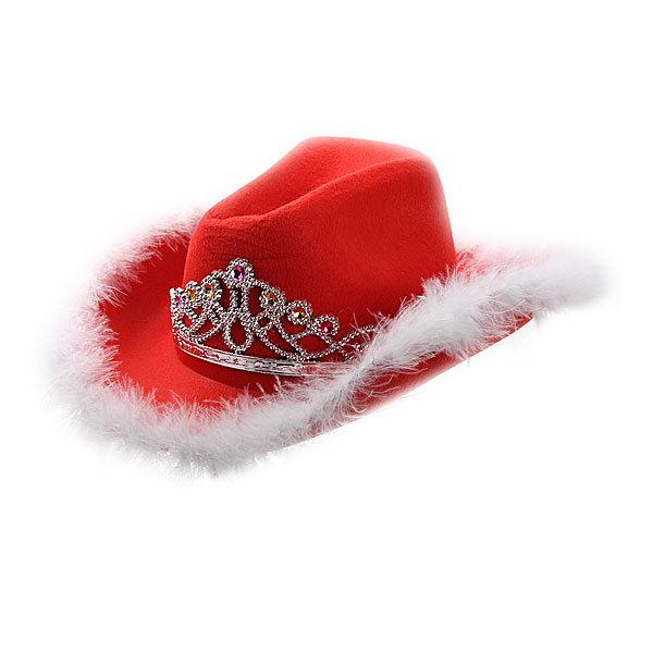 Шляпа карнавальная ″Гламурная ковбойша″ 020-1 купить оптом и в розницу