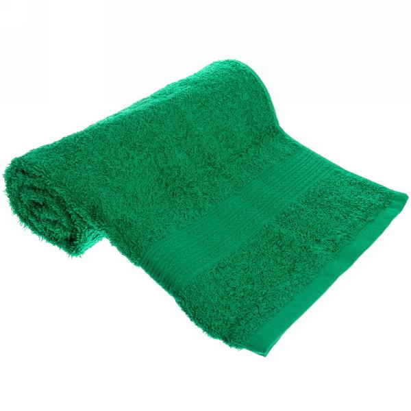 Махровое полотенце 50*90см ярко-зеленое ЭК90 Д01 купить оптом и в розницу